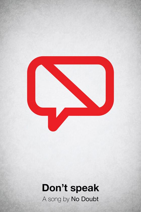 Cartaz representando No Doubt - Don´t Speak