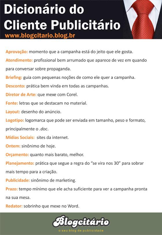 Dicionário do Cliente Publicitário