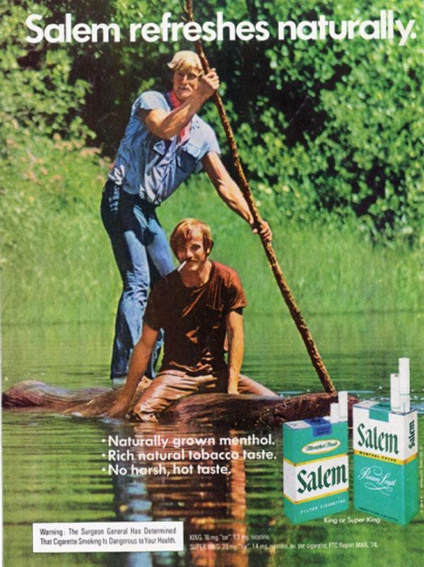 Anúncio gay para Salem