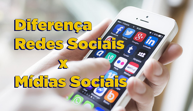 diferença entre redes sociais e mídias sociais