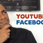 Vídeo no YouTube ou Facebook