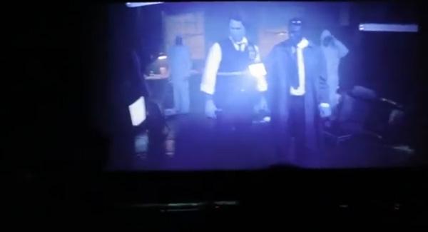 Trailer assustador e interativo